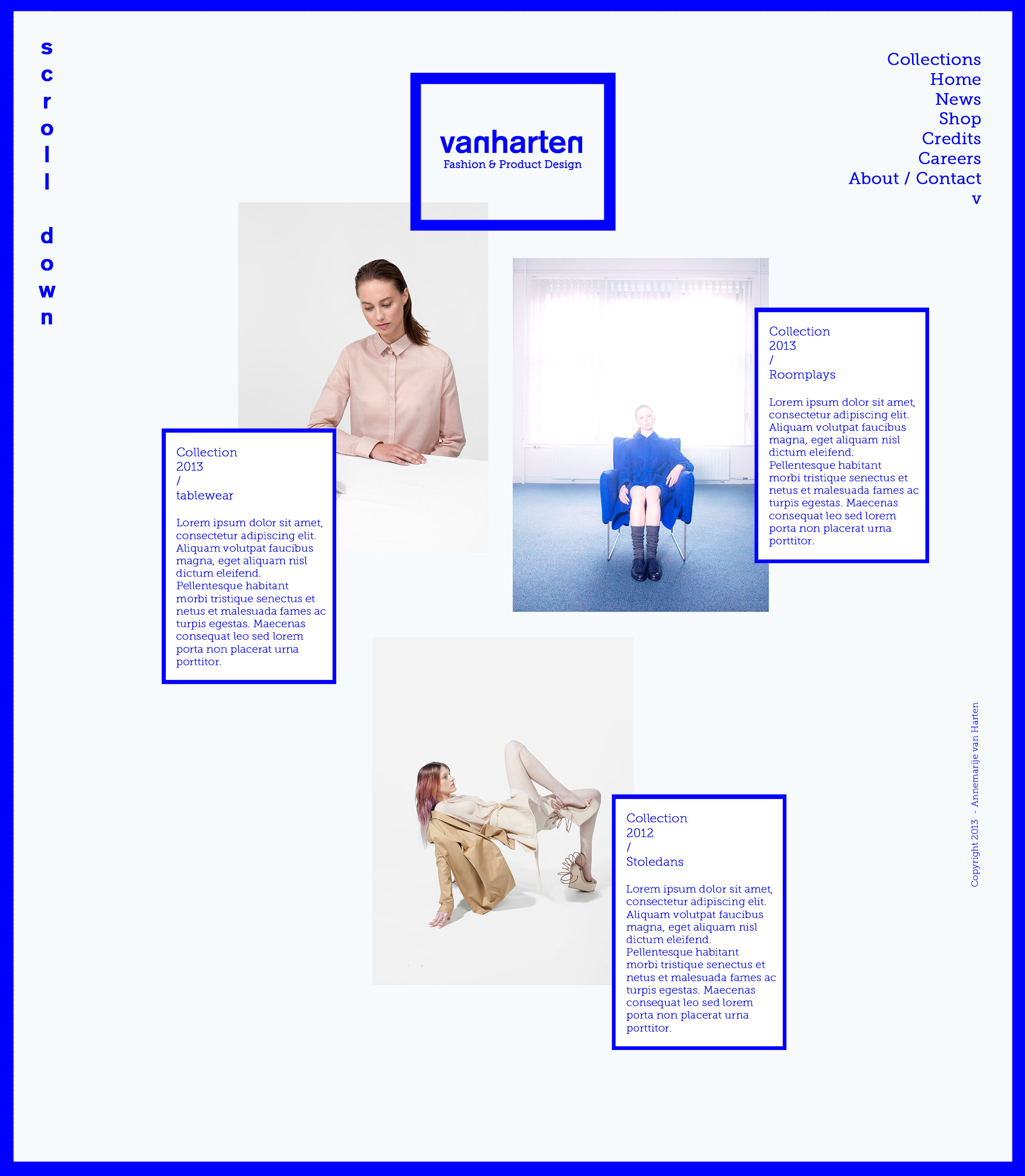VANHARTEN WEBSITE