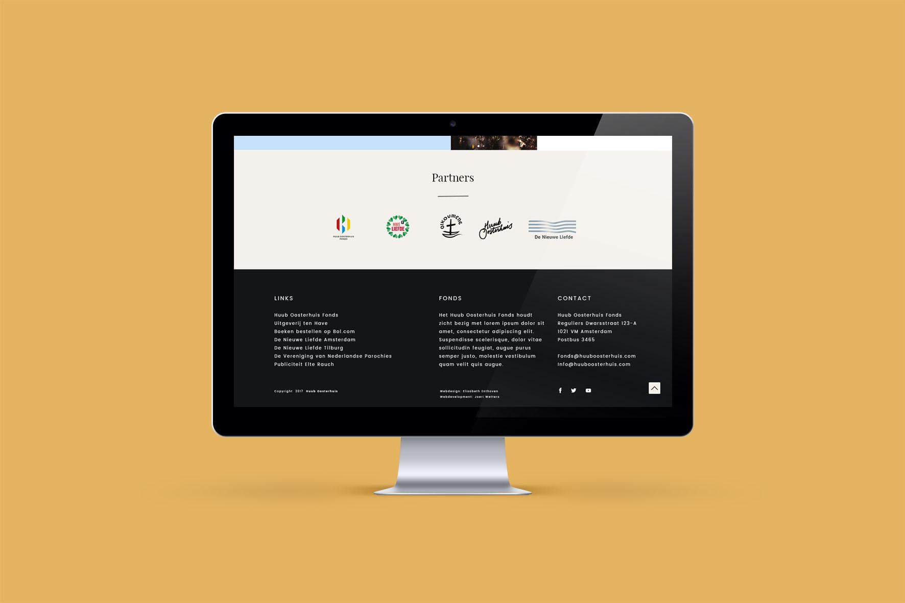 HUUB OOSTERHUIS WEBSITE