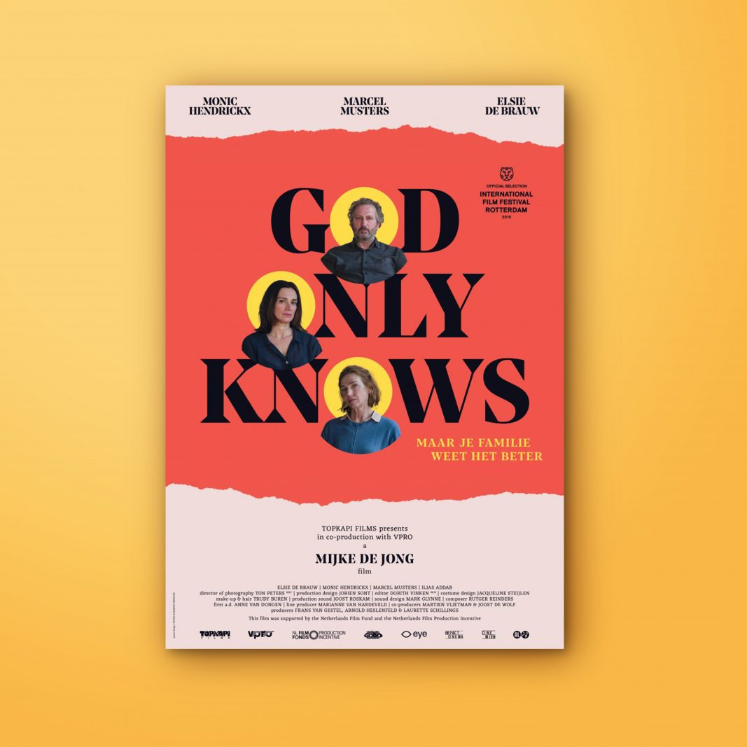 Graphic design movie poster god only knows