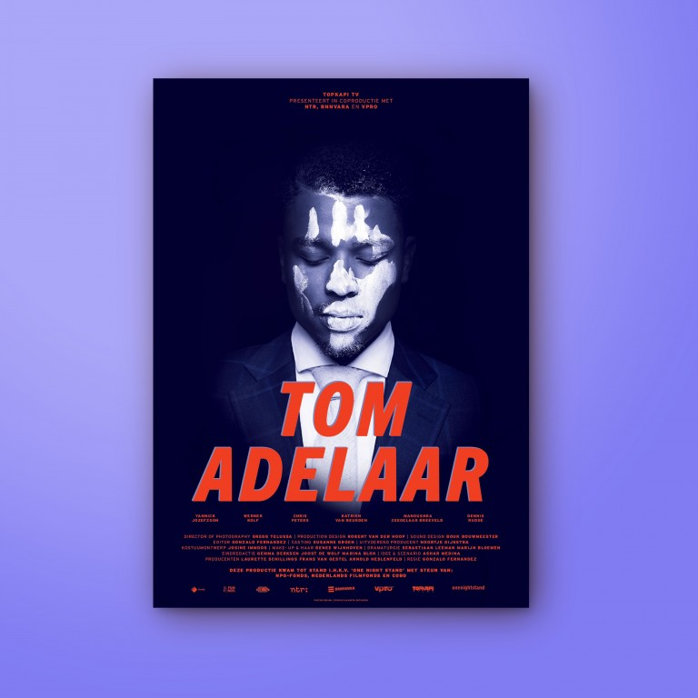 Graphic design movie poster Tom Adelaar