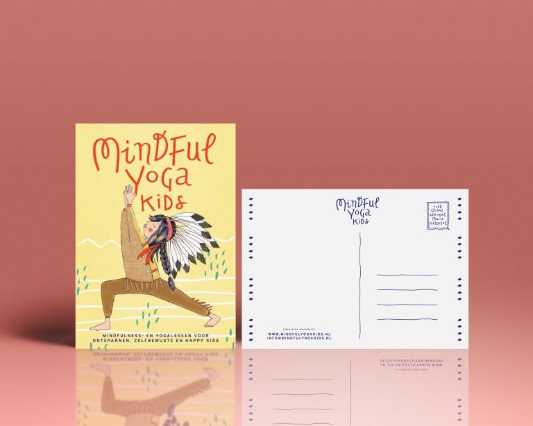 MINDFUL YOGA KIDS CARD