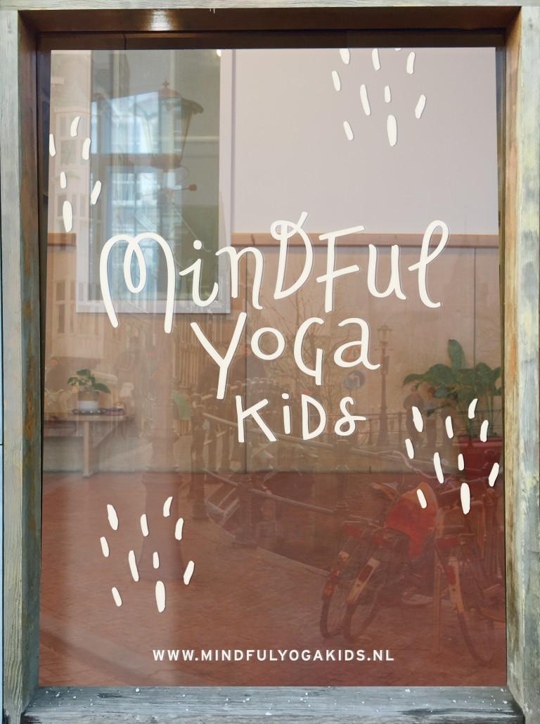 MINDFUL YOGA KIDS WINDOW