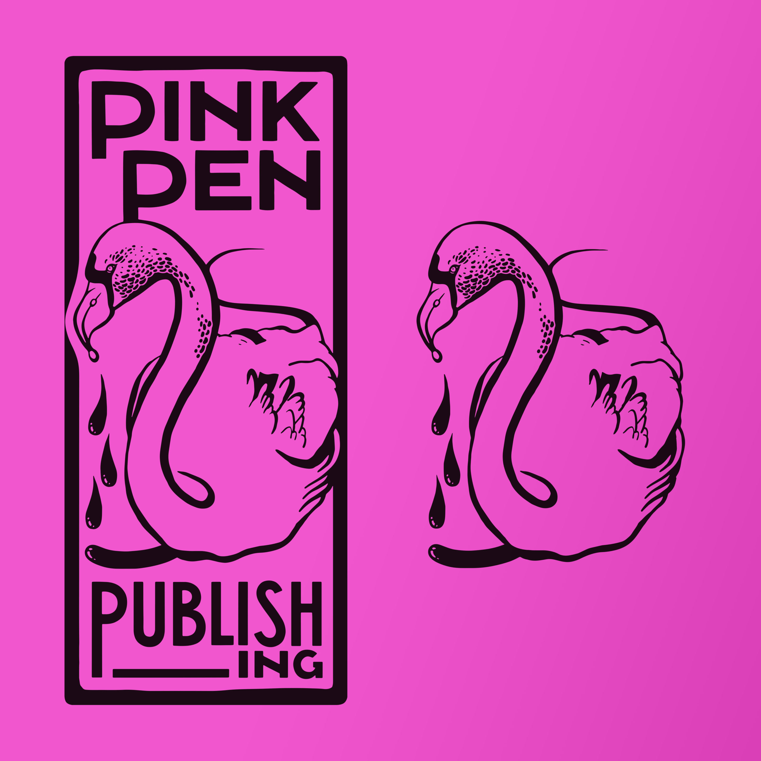 Logo Pink Pen Publishing